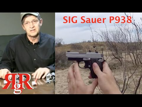 SIG Sauer P938 On the Range Review