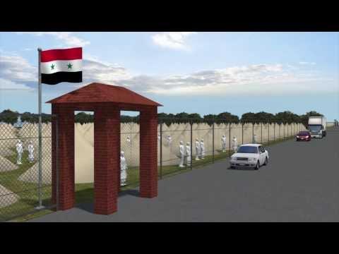 Bomb hits Syrian refugee camp near Turkish border