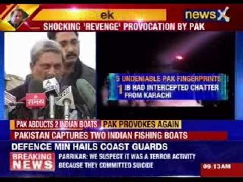 Pakistan boat had suspected terror links, says Manohar Parrikar