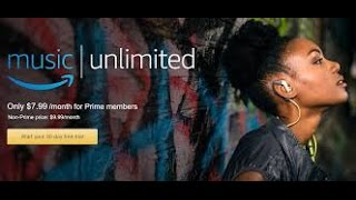 Amazon Music Unlimited is here! Will you Listen??