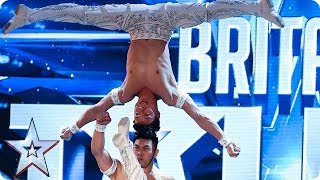 OMG! Watch The Giang Brothers' UNBELIEVABLE show of strength!   Auditions   BGT 2018