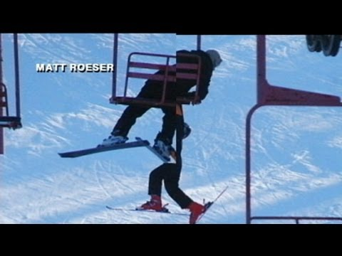 Caught on Tape: Teen Falls Off Chair Lift