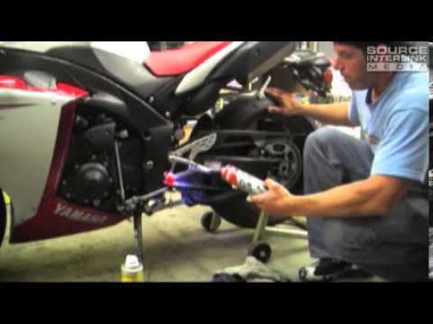 how to clean a grease bike