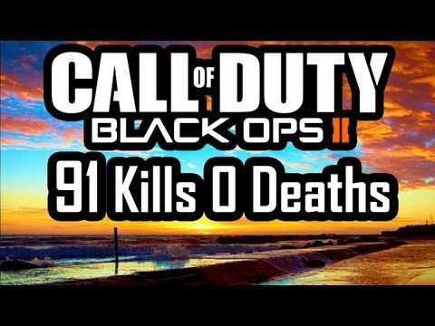 Black Ops 2 91 Kills 0 Deaths Flawless - CoD Bo2 Multiplayer