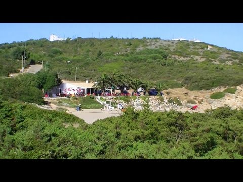 Praia Ingrina Vila do Bispo Algarve Portugal (HD)