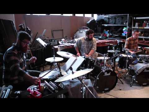 Sō Percussion Plays Glenn Kotche's Drumkit Quartets No. 54 (Vienna)