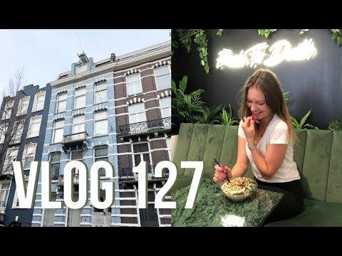 Vlog 127 Shooten in Amsterdam en Gele muur! | Aimée van der Pijl