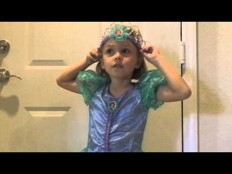 Disney Princess ARIEL Costume Dress Up Review