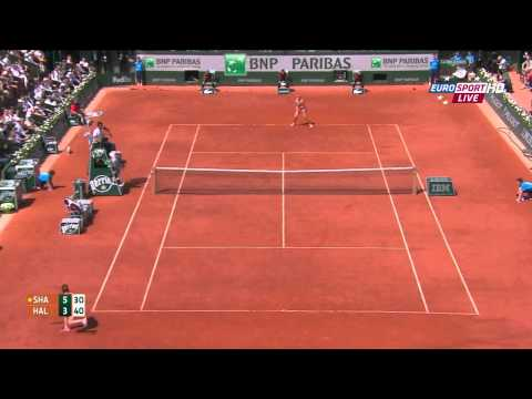 S. Halep vs. M. Sharapova Women's Final Roland Garros 2014