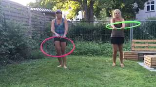 Beginner Hula Hoop Trick Sequence