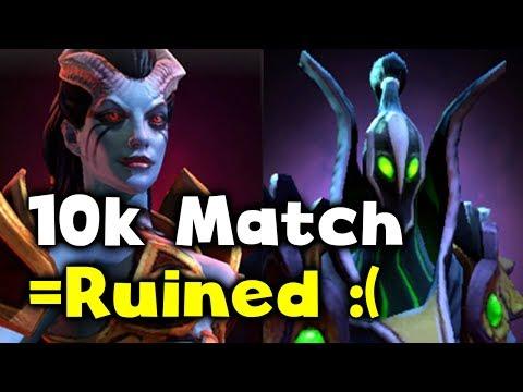 10k MMR MATCH RUINED!!! OMG SHEEEEEETSHOW :( DOTA 2