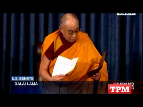 Dalai Lama Leads Senate Prayer For First Time Ever
