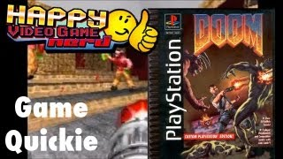 HVGN Game Quickie: DOOM Custom Playstation Edition
