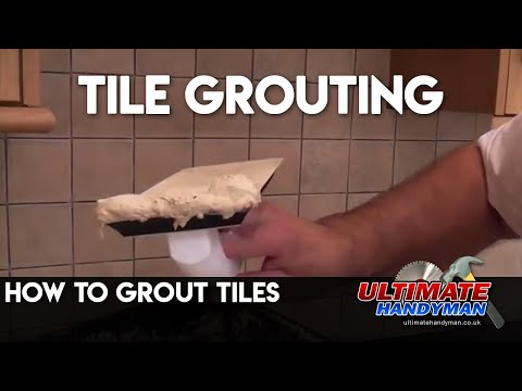 How to grout tiles | tile grouting