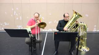 Wagner Lohengrin Act 1&2, tuba and bass trombone orchestral excerpts