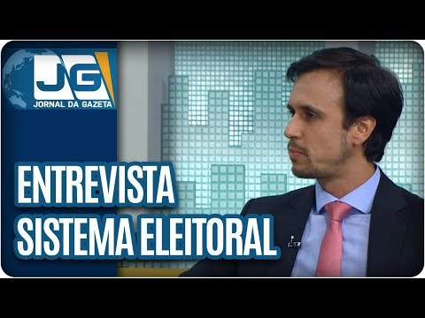 Rodolpho Gamberini entrevista Marcelo Issa, da Transparência Partidária, sobre o sistema eleitoral
