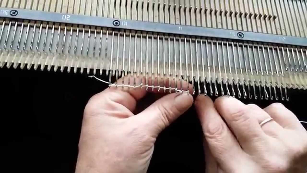 Видеокурсы по вязанию на машинке