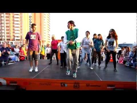 Уличные танцы: Мастер-класс от Коли Данченко :)