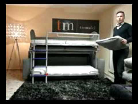 Tremafel sofa litera youtube for Sofa cama monterrey