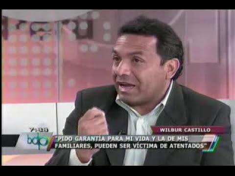 Wilbur Castillo amenaza con difundir nuevos audios comprometedores