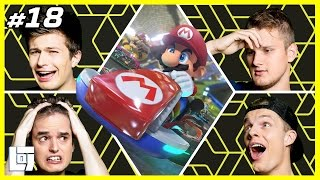 Mario Kart 8 met Don, Enzo, Ronald en Ward | XL Battle | LOGNL #18