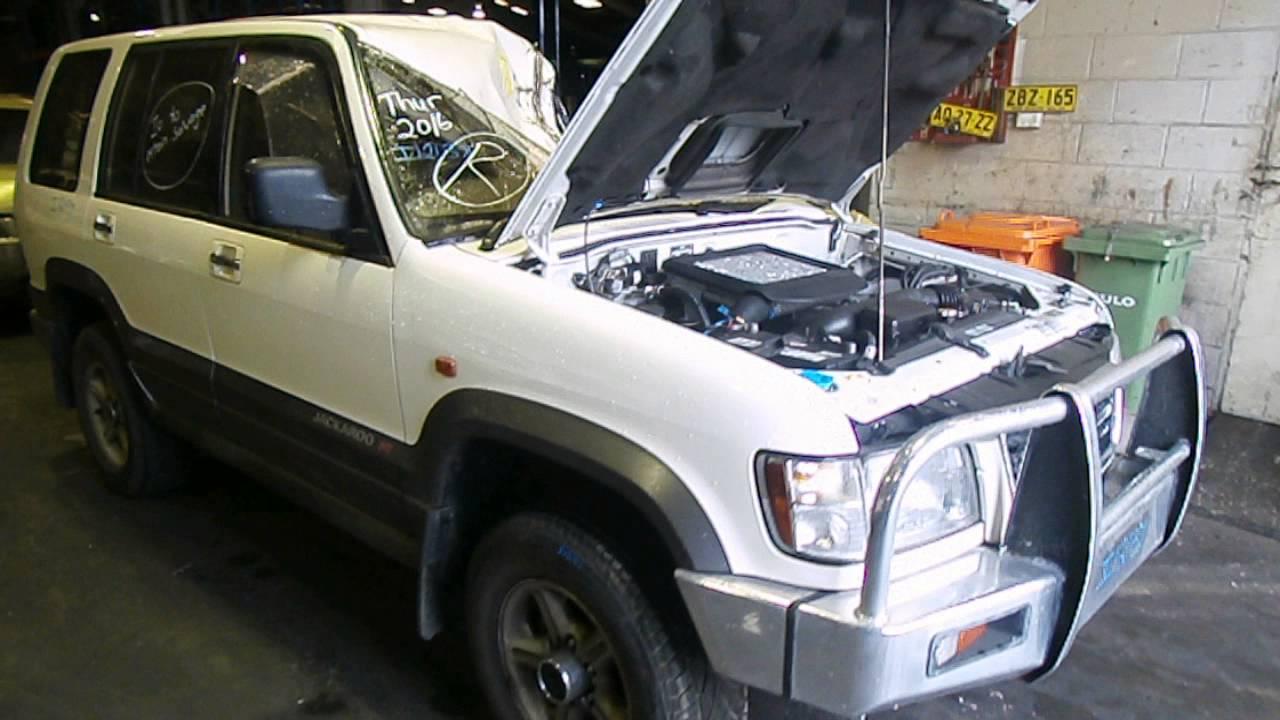 Holden Jackaroo 1999 3.0