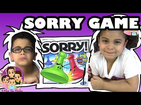 SORRY GAME FIRE AND ICE: How to Play Sorry Fire and Ice - Challenges For Kids (#sorrygame)