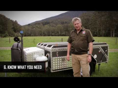 Camper Trailer Review  - Mars Campers  Buying Guide