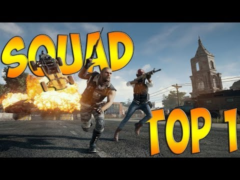 TOP #1. SQUAD. PUBG | PLAYERUNKNOWN'S BATTLEGROUNDS | ПУБГ | ПАБГ