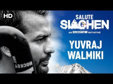 Salute Siachen | Yuvraj Walmiki - Introduction