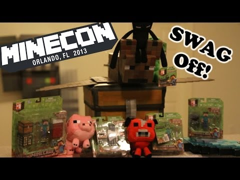 Minecon 2013 - SWAG OFF! - Also Vox Force Hoodies!