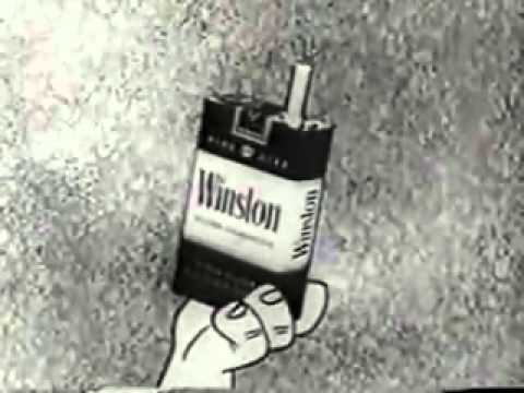 Flintstones Cigarette Commercial - Flintstones Smoking 1950s Retro Ad
