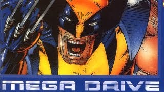 Classic Game Room - WOLVERINE ADAMANTIUM RAGE review for Sega Mega Drive