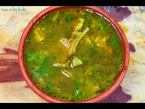 Super Healthy Recipe Lamb Rib Bone Soup.!!|| Markandam Soup Recipe ||Mutton Bone Soup Recipe