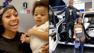 "Lil Baby Son Loyal Does ""The Woah"" For Mommy Jayda Wayda!"