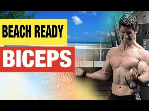 NEW Biceps Workout!!  BEACH READY Biceps for Summer!