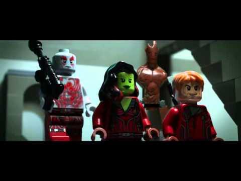 Lego Guardianes de La Galaxia trailer en Español Latino