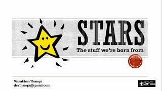 Stars: The stuff we are born from (Malayalam) - by Vaisakhan Thampi