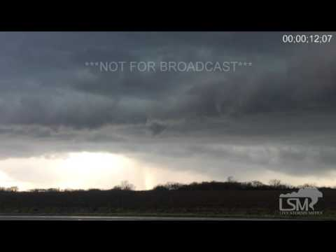 3-15-16 Warsaw, IL Funnel and Hail