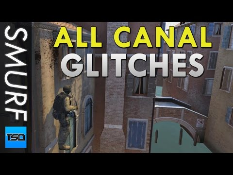 CS:GO - All Canals Glitches - Out Of The Map & Jump Spots - Part 1 - 16th March 2017