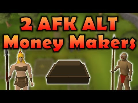 [OSRS] 2 AFK No Requirement Alt Accounts | Money Making Guide | Old School Runescape