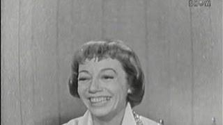 What's My Line? - Imogene Coca; Tom Poston [panel] (Oct 26, 1958)