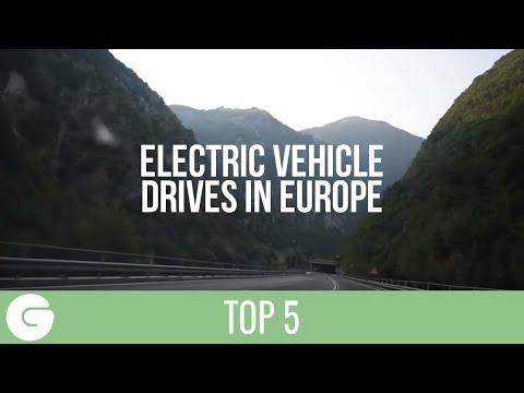 Top 5 EV Drives in Europe