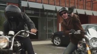 Stroumboulopoulos rides with Keanu Reeves