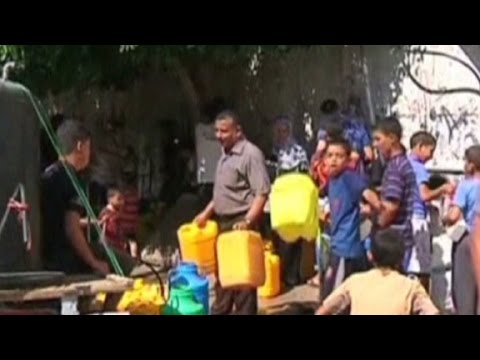 Cease-fire begins in Gaza