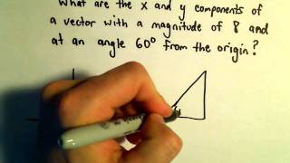 Finding the Components of a Vector, Ex 1