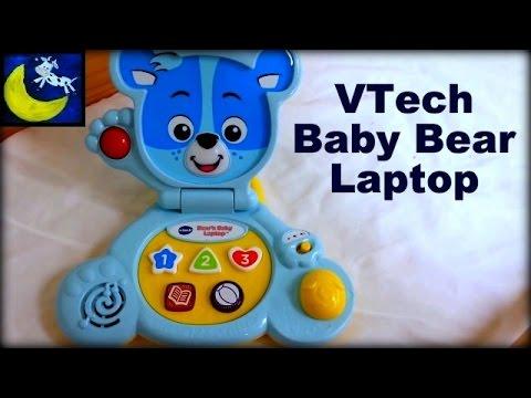 Baby Blue Laptops Vtech Bear's Baby Laptop