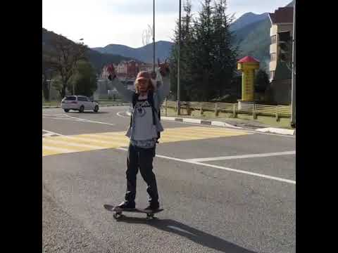 First try Friday's @solncecvet | Shralpin Skateboarding