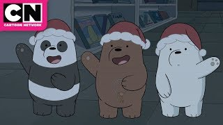 We Bare Bears | The Fake Santa Robbery | Cartoon Network