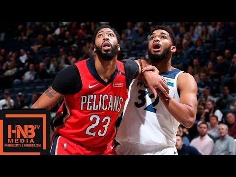 Minnesota Timberwolves vs New Orleans Pelicans Full Game Highlights | 11.14.2018, NBA Season